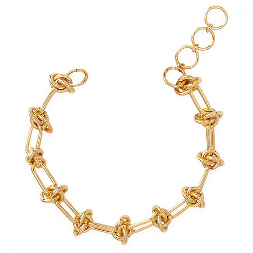 Bracelets CLARE 03 gold + ministone crystal