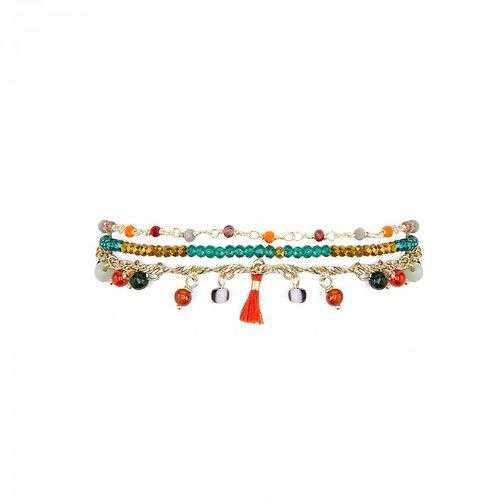 Bracelet Harem rouge