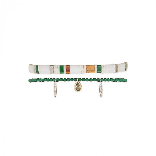 Bracelets Vaiana green
