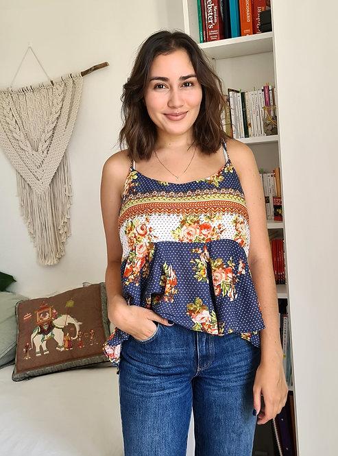 T-shirt Nami Floral Sangle