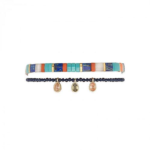 Bracelets Vaiana blue