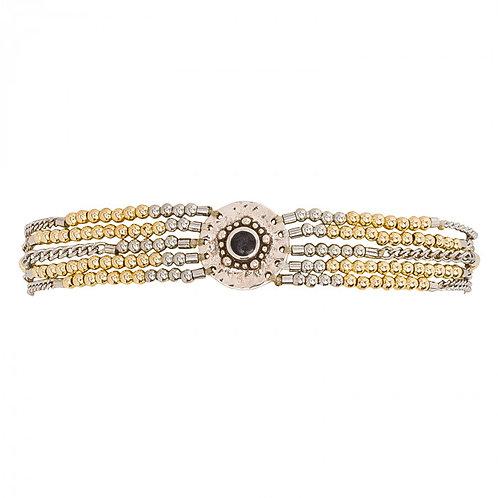 Bracelet Shogun Silver/Gold