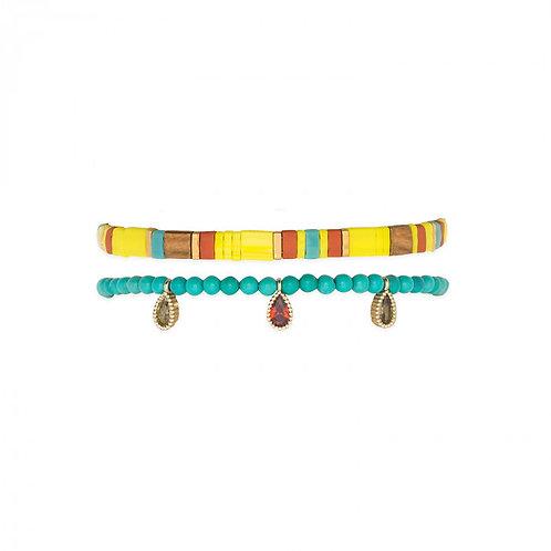 Bracelets Vaiana yellow