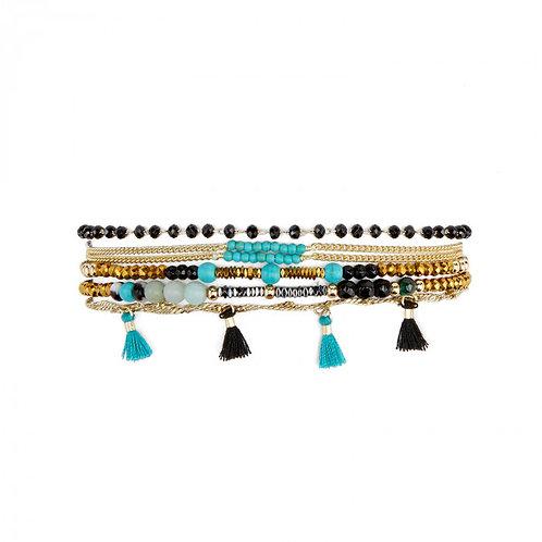 Manchette Hennah turquoise