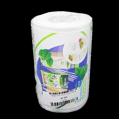 Bolsa rollo 15x25 biodegradable