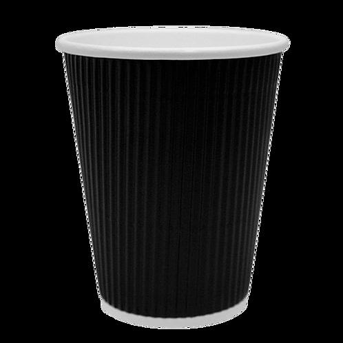12oz Vaso Negro caja