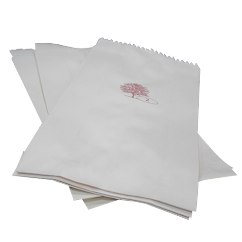 Bolsa papel blanca #2
