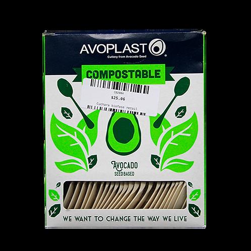 Cuchara biodegradable