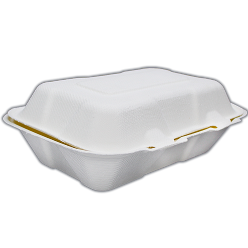 9x6 Contenedor Compostable liso