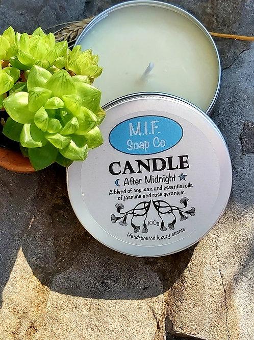 After Midnight Candle (Jasmine & Rose Geranium)