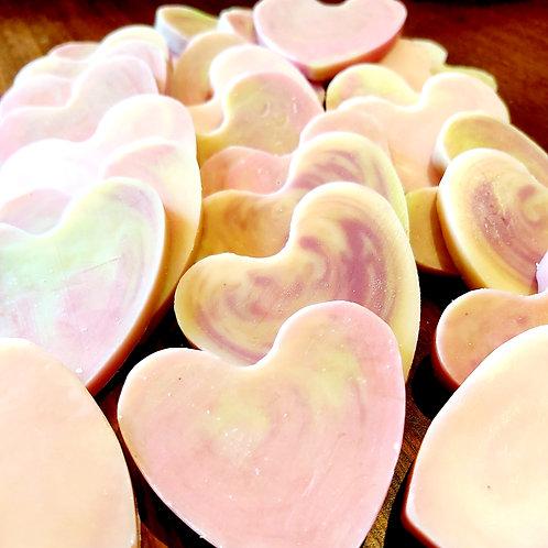 Heart Soap Wedding Favours
