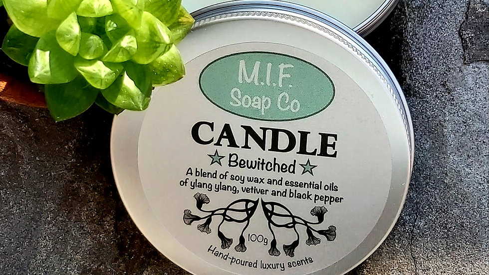 Bewitched Candle (Ylang Ylang, Vetiver & Black Pepper)