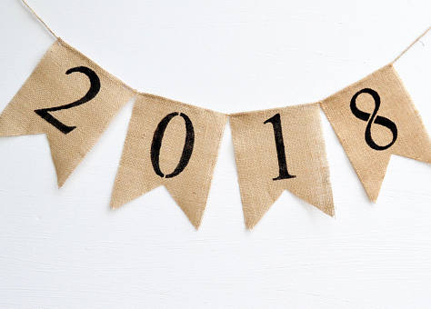 Goodbye to 2017, Hello to 2018