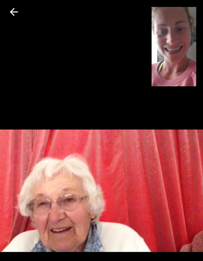 FaceTime with Gran