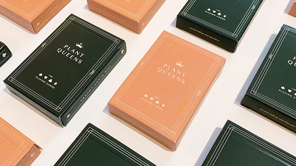 Plant Queen Playing Cards