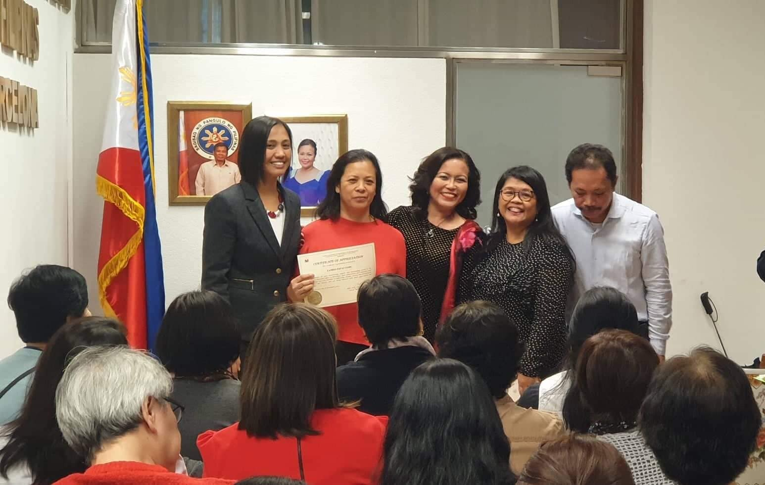 Consulado de Filipinas, Barcelona