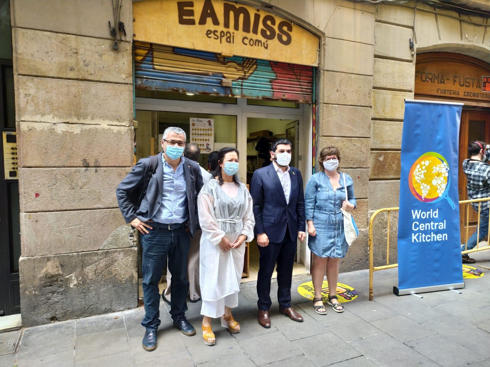 Visita Consellers Generalitat