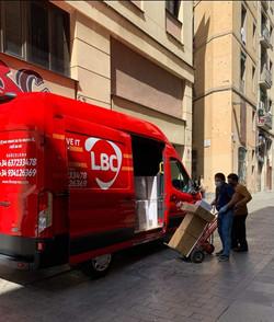 Soporte logístico LBC