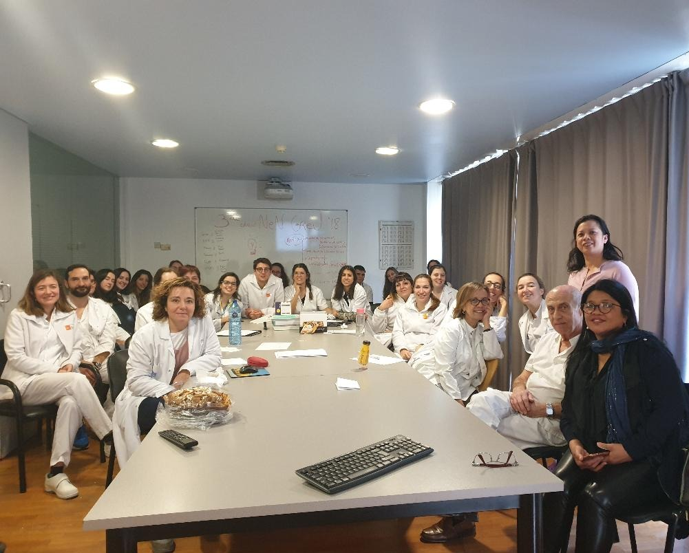 Equipo de pediatría del Hospital del Mar de Barcelona