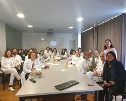 Equipo de pediatría del Hospital del Mar de Barcelona