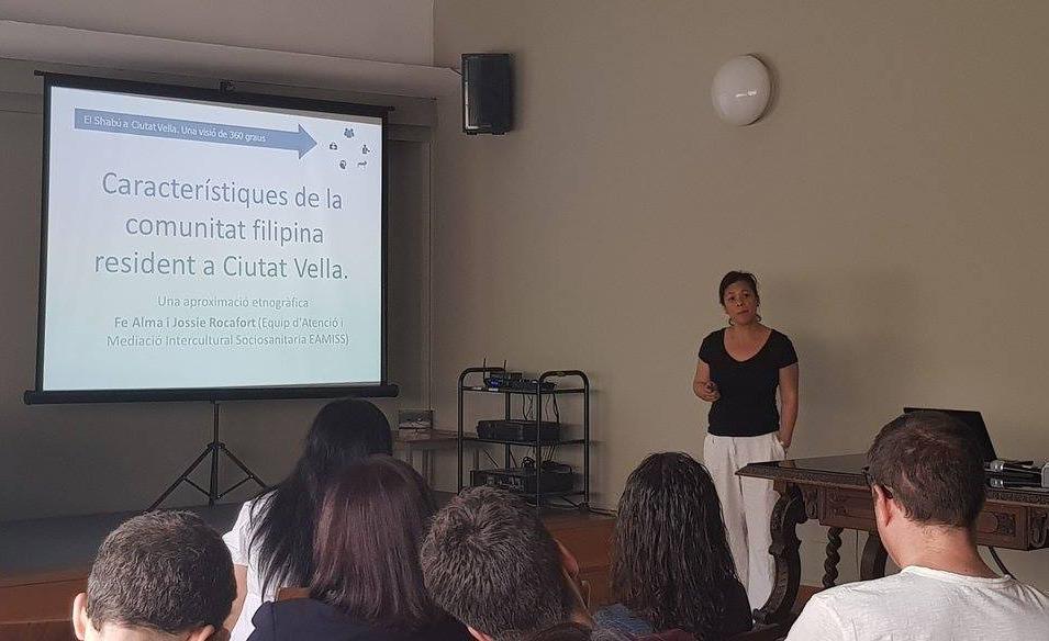Presentación Comunidad Filipina