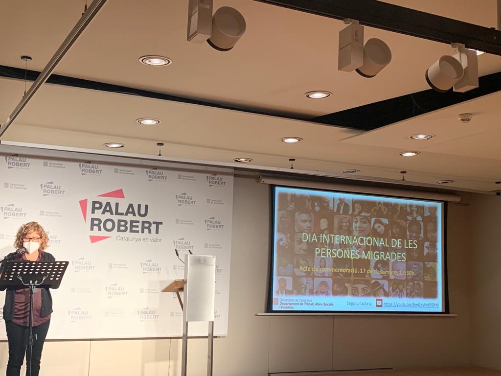 Palau Robert - Dones Migrades