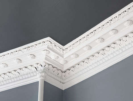 Decorated Ceiling Cornice