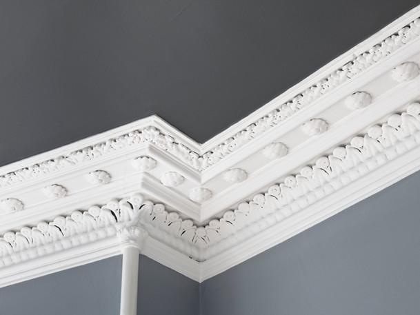Decorated Ceiling Cornice