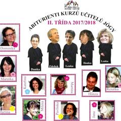Tablo absolventů, 2018