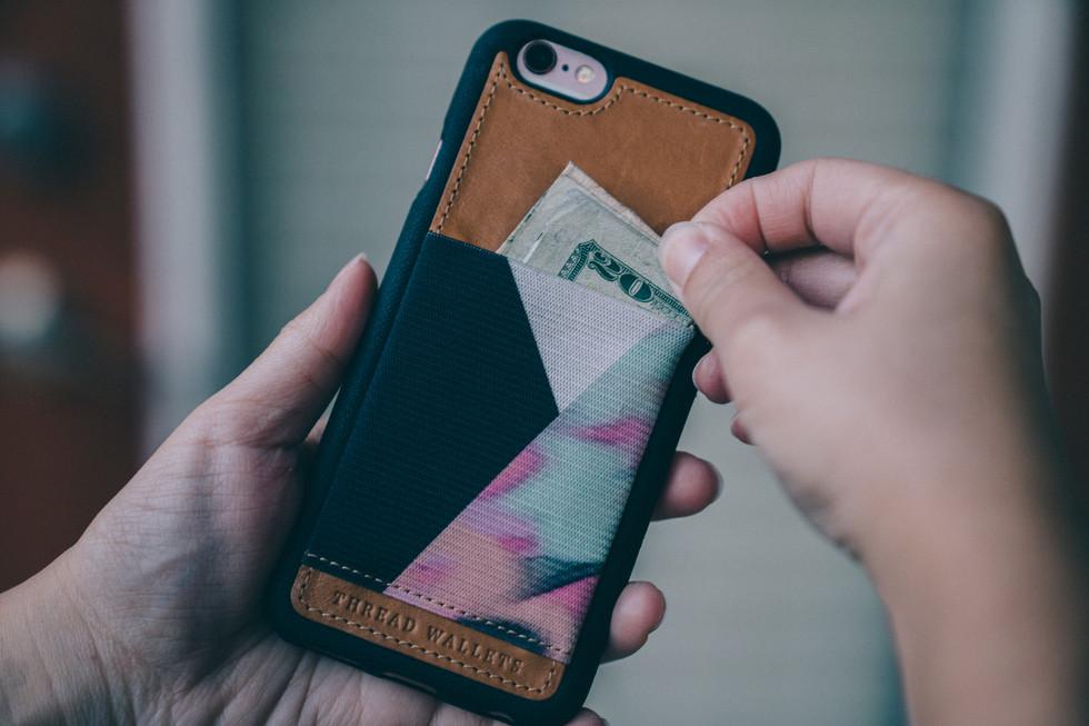 Stylish Phone Wallet | Product Photography + Styling | Chromatone Studios