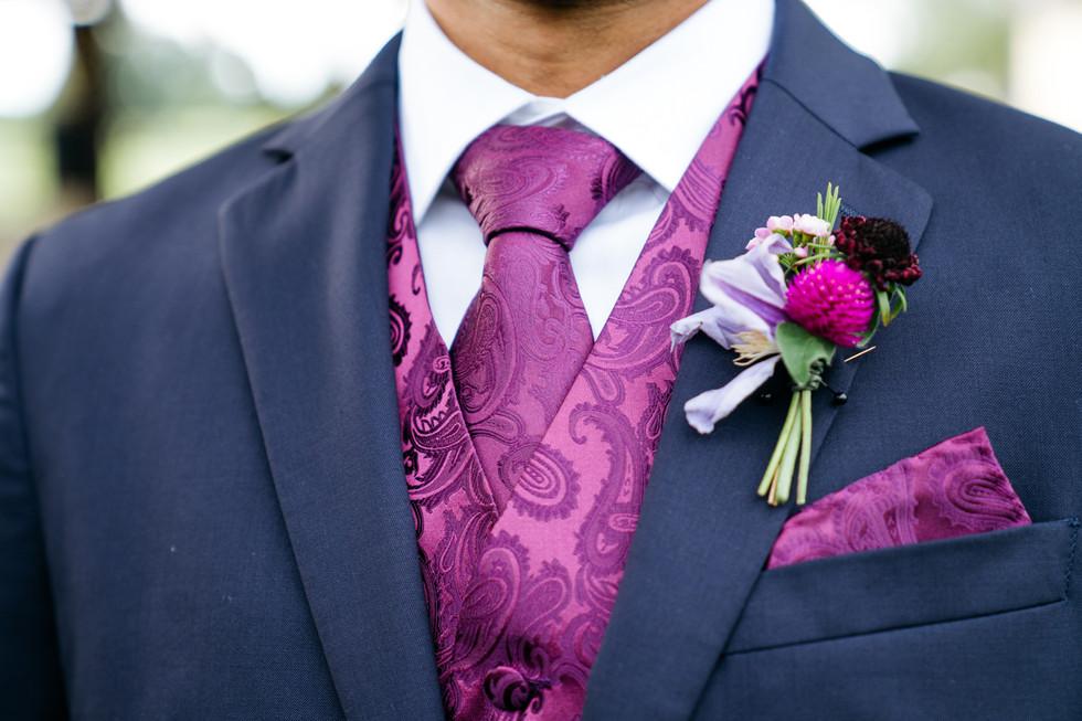 Groom in Suit | Wedding Photography | Chromatone Studios