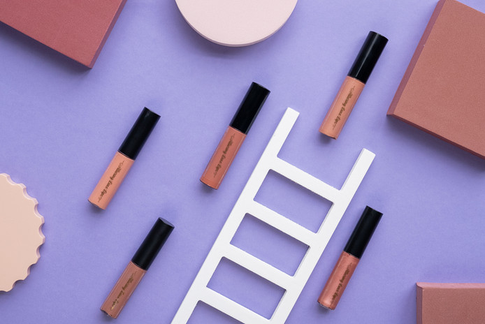 Styled Lip Gloss With Ladder | Alluring Luxe Lips | Product Photography + Styling | Chromatone Studios