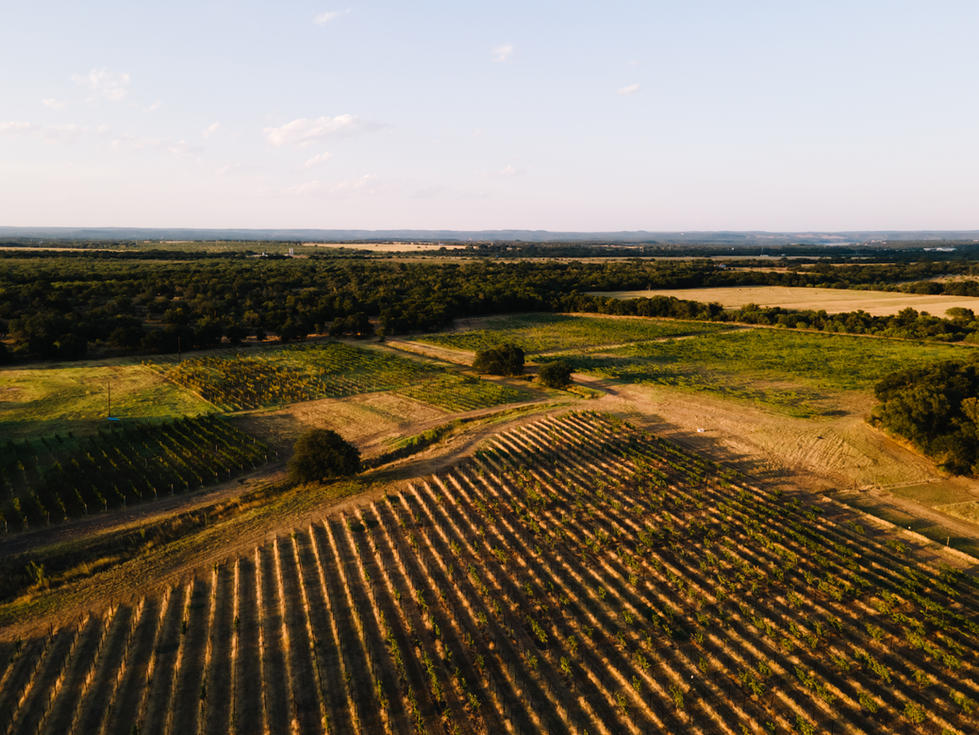 Drone Shot of Field | Pack Supply Co. | Drone + Landscape Photography | Chromatone Studios