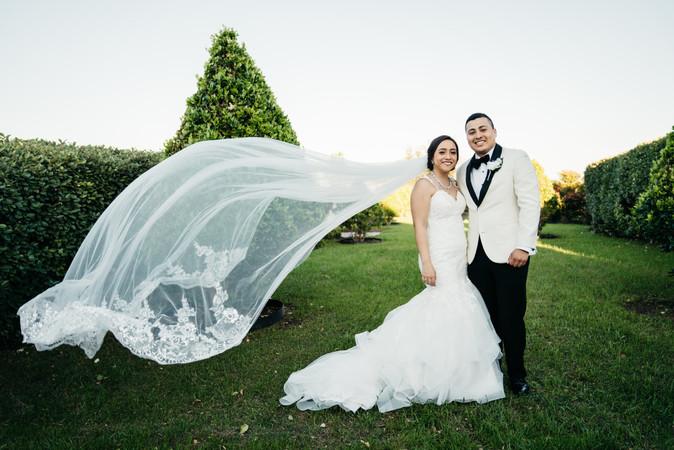 Bride and Groom Posing | Wedding Photography | Chromatone Studios