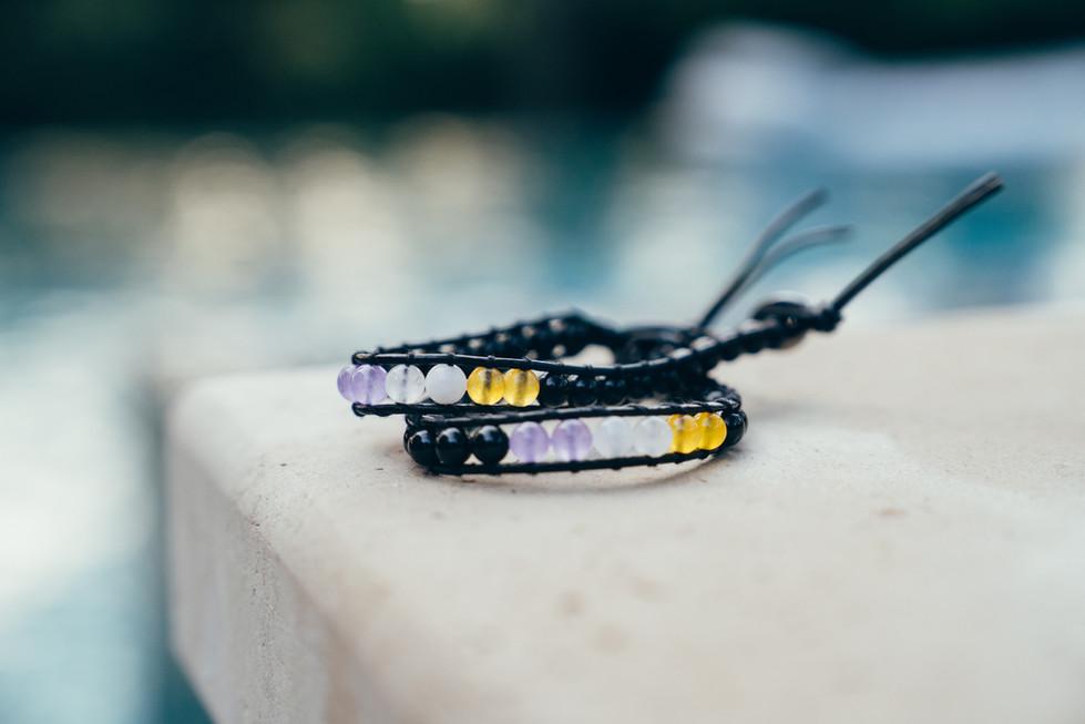 Bracelets on Stone | Product Photography + Styling | Chromatone Studios