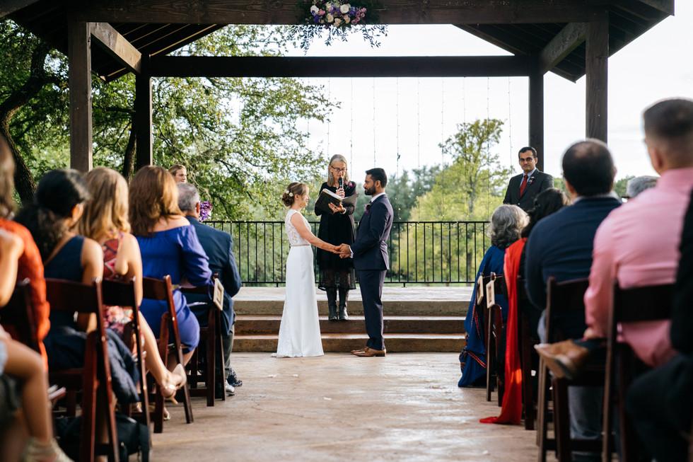 Outdoor Wedding Ceremony | Wedding Photography | Chromatone Studios