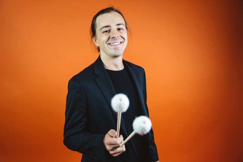 Man With Drumsticks | Portrait/Fashion Photography | Chromatone Studios
