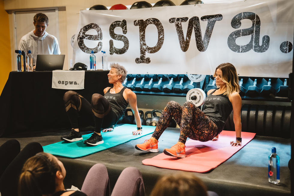 ESPWA | Burn and Brunch with Erin Oprea | Chromatone Studios | Event Photography
