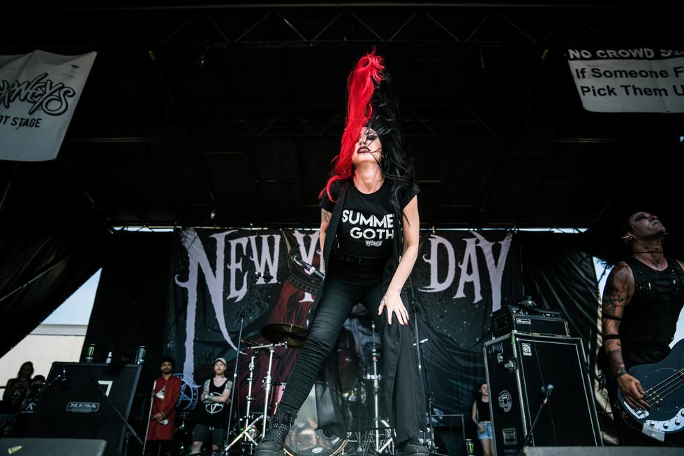 New Years Day | Warped Tour | Music Photography | Kelly Ngo | Chromatone Studios
