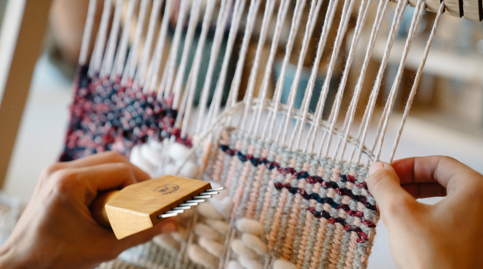 Weaving | Product Photography + Styling | Chromatone Studios
