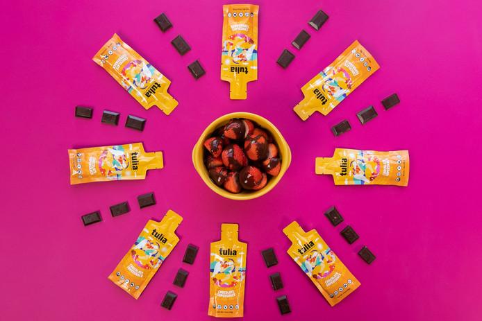 Chocolate Strawberries Health Food | Tulia | Product Photography + Styling | Chromatone Studios