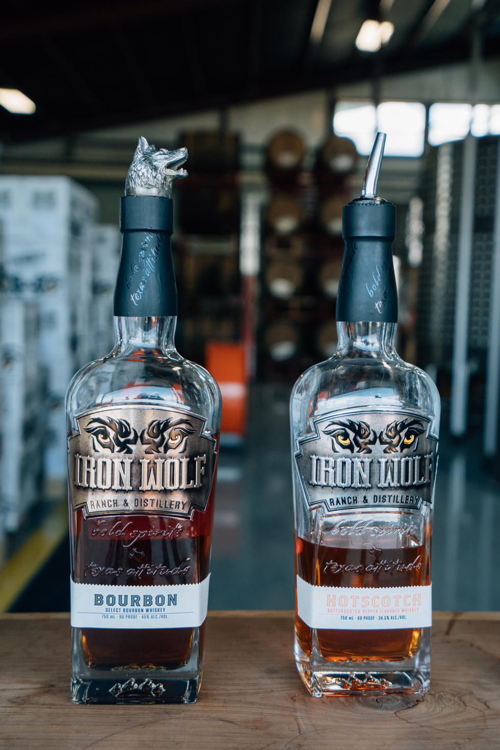 Whiskey in Distillery | Iron Wolf Distillery | Commercial Photography | Chromatone Studios