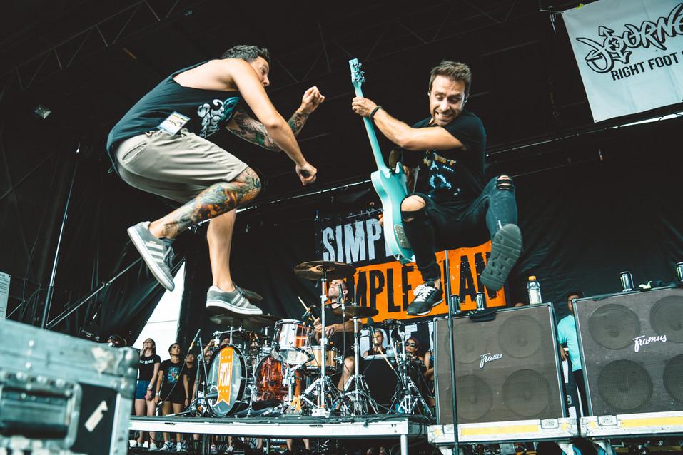 Simple Plan | Warped Tour | Music Photography | Kelly Ngo | Chromatone Studios