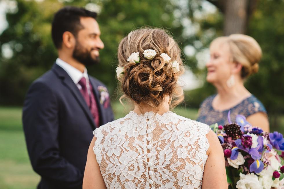 Wedding Couple with Mother | Wedding Photography | Chromatone Studios