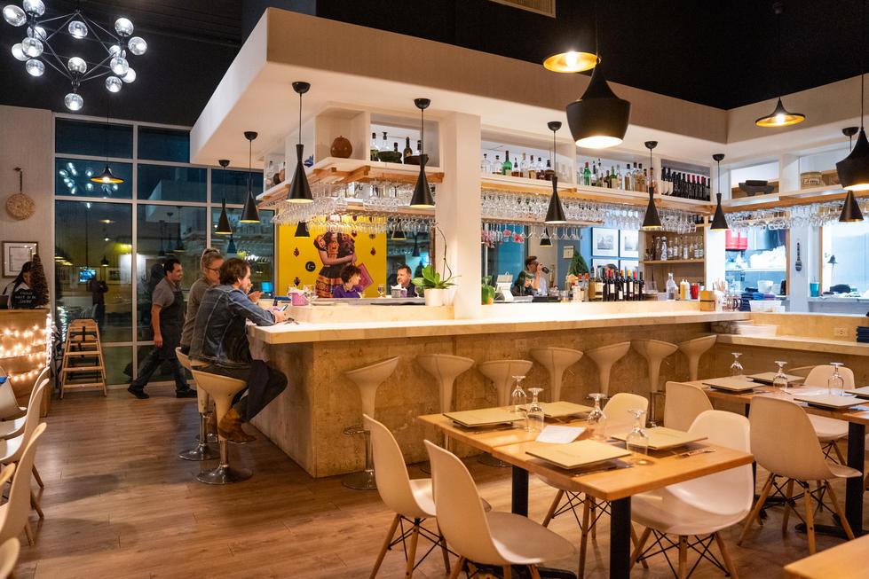 Bright Restaurant Interior | Commercial Photography + Styling | Chromatone Studios