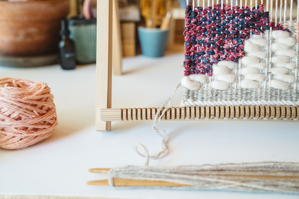 Weaving + Yarn | Product Photography + Styling | Chromatone Studios