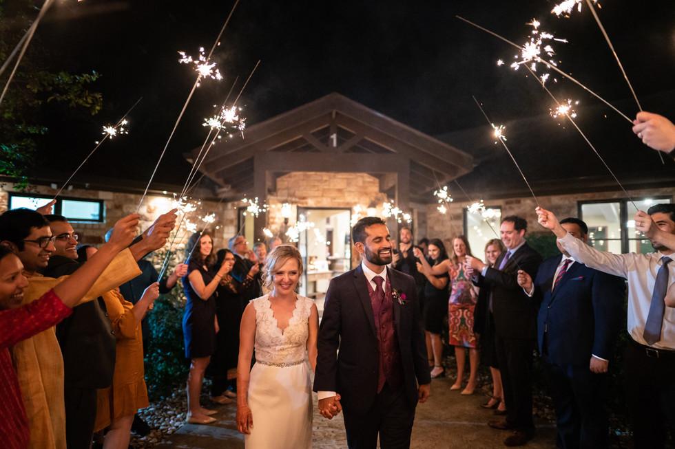 Evening Wedding Ceremony | Wedding Photography | Chromatone Studios