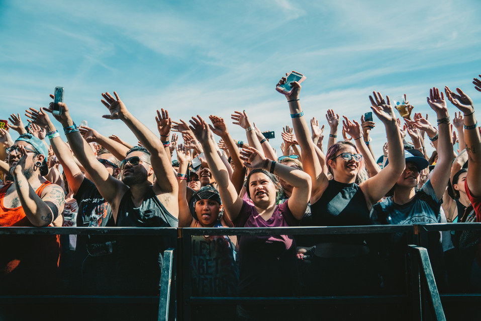 Crowd | Warped Tour | Music Photography | Kelly Ngo | Chromatone Studios