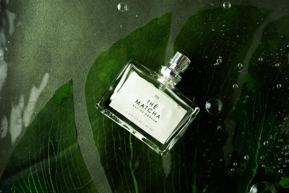 Underwater Perfume | The Matcha | Product Photography + Styling | Chromatone Studios