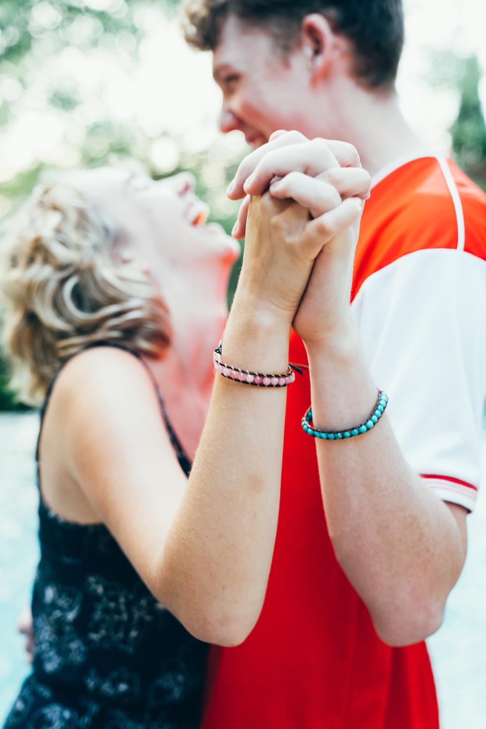 Couple with Bracelets | Product Photography + Styling | Chromatone Studios